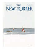 The New Yorker Cover - July 31, 1978 Premium Giclee Print by Gretchen Dow Simpson
