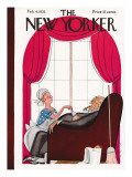 The New Yorker Cover - February 4, 1933 Premium Giclee Print by Rea Irvin