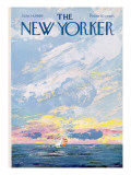 The New Yorker Cover - June 14, 1969 Premium Giclee Print by Charles E. Martin