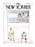 The New Yorker Cover - November 7, 1977 Premium Giclee Print by Charles Saxon
