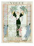 Vogue Cover - December 1918 Regular Giclee Print by Helen Dryden