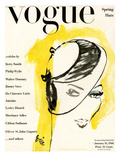 "Vogue Cover - January 1944 Premium Giclee Print by Carl ""Eric"" Erickson"