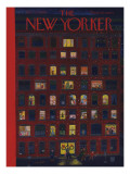The New Yorker Cover - December 26, 1953 Regular Giclee Print by Ilonka Karasz