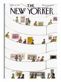 The New Yorker Cover - March 17, 1975 Premium Giclee Print by Laura Jean Allen