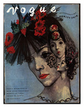 Vogue Cover - March 1936 Regular Giclee Print by Pavel Tchelitchew