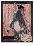 Vogue Cover - April 1915 Premium Giclee Print by George Wolfe Plank
