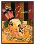 Gourmet Cover - June 1951 Regular Giclee Print by Henry Stahlhut