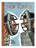 The New Yorker Cover - September 8, 1951 Premium Giclee Print by Peter Arno