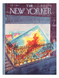 The New Yorker Cover - February 3, 1962 Premium Giclee Print by Anatol Kovarsky
