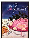 Gourmet Cover - July 1949 Regular Giclee Print by Henry Stahlhut