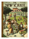 The New Yorker Cover - September 1, 1934 Premium Giclee Print by William Steig