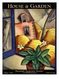 House & Garden Cover - August 1928 Regular Giclee Print by Bradley Walker Tomlin