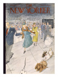 The New Yorker Cover - February 12, 1955 Premium Giclee Print by Perry Barlow