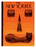 The New Yorker Cover - October 28, 1961 Regular Giclee Print by Anatol Kovarsky
