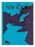 The New Yorker Cover - September 21, 1981 Premium Giclee Print by Arthur Getz