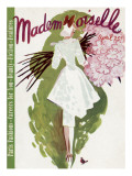 Mademoiselle Cover - April 1937 Regular Giclee Print by Elizabeth Dauber