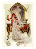 Vogue Cover - May 1912 Premium Giclee Print by Frank X. Leyendecker