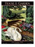House & Garden Cover - June 1926 Premium Giclee Print by Joseph B. Platt