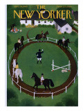 The New Yorker Cover - June 18, 1949 Premium Giclee Print by Edna Eicke