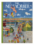 The New Yorker Cover - April 18, 1959 Premium Giclee Print by Ilonka Karasz