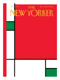 The New Yorker Cover - December 22, 2008 Regular Giclee Print by Bob Staake