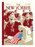 The New Yorker Cover - July 3, 2006 Premium Giclee Print by Christoph Niemann