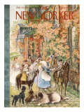 The New Yorker Cover - July 14, 1956 Regular Giclee Print by Mary Petty