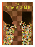 The New Yorker Cover - December 11, 1965 Premium Giclee Print by Charles E. Martin
