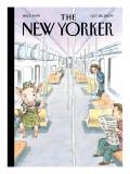 Flu Season - The New Yorker Cover, October 26, 2009 Regular Giclee Print by John Cuneo