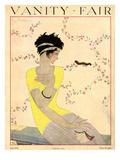 Vanity Fair Cover - July 1918 Regular Giclee Print by Georges Lepape