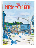 The New Yorker Cover - July 6, 1981 Regular Giclee Print by Arthur Getz