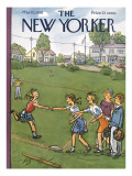 The New Yorker Cover - May 10, 1958 Regular Giclee Print by Perry Barlow