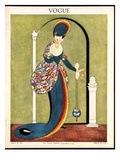 Vogue Cover - July 1913 Premium Giclee Print by George Wolfe Plank