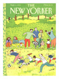 The New Yorker Cover - September 2, 1991 Premium Giclee Print by Devera Ehrenberg