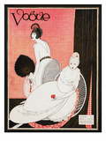 Vogue Cover - January 1913 Regular Giclee Print by George Wolfe Plank