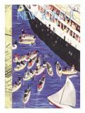 The New Yorker Cover - February 6, 1937 Regular Giclee Print by Roger Duvoisin