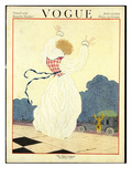 Vogue Cover - June 1919 Premium Giclee Print by Georges Lepape