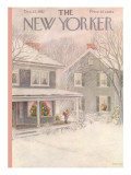 The New Yorker Cover - December 27, 1952 Premium Giclee Print by Edna Eicke