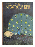 The New Yorker Cover - June 4, 1966 Premium Giclee Print by William Steig
