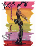 Vogue Cover - September 1939 - Parisian Rainbow Regular Giclee Print by Christian Berard