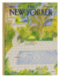 The New Yorker Cover - April 21, 1986 Premium Giclee Print by Jean-Jacques Sempé