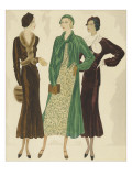 Vogue - October 1931 Regular Giclee Print by William Bolin