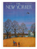The New Yorker Cover - March 26, 1955 Regular Giclee Print by Edna Eicke