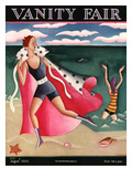 Vanity Fair Cover - August 1925 Premium Giclee Print by Miguel Covarrubias