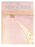 The New Yorker Cover - March 28, 1983 Regular Giclee Print by James Stevenson