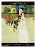House & Garden Cover - September 1919 Premium Giclee Print by H. George Brandt