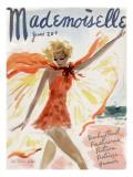 Mademoiselle Cover - June 1936 Regular Giclee Print by Helen Jameson Hall