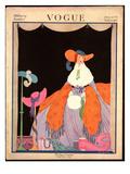 Vogue Cover - September 1916 Regular Giclee Print by Helen Dryden