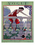 Vogue Cover - May 1924 Regular Giclee Print by André E. Marty