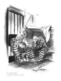 """I wish I had a good detective story."" - New Yorker Cartoon Premium Giclee Print by Kemp Starrett"